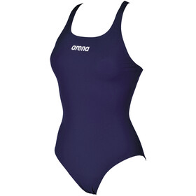 arena Solid Swim Pro One Piece Swimsuit Dames, navy/white